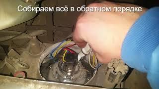 Замена ГАБАРИТОВ за МИНУТУ ваз 2114, диодная белая.
