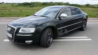 Audi a8 4.2L 2008 год - ПРОДАЕТСЯ!(ЦЕНА: 21 000$ Автомобиль в отличном состоянии! LONG ! Чистый 2008 год (рестайлинг)! Оригинальный пробег - есть бумаг..., 2014-06-16T18:23:36.000Z)