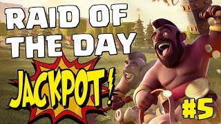 RAID OF THE DAY #5 - TH11 V TH12 KS LALO | Mister Clash - Clash of Clans