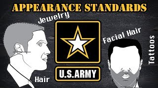 Appearance standards in the Army