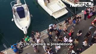 In migliaia a Genova per il concorso infermieri