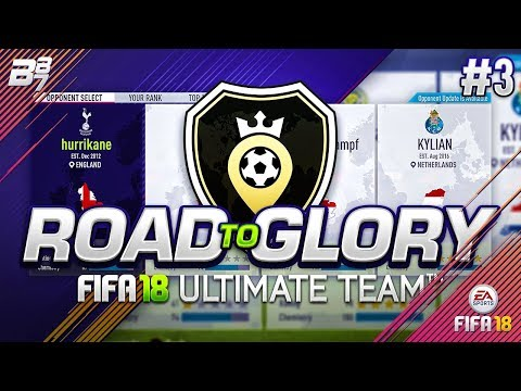 ROAD TO GLORY! SQUAD BATTLES #3   FIFA 18 ULTIMATE TEAM