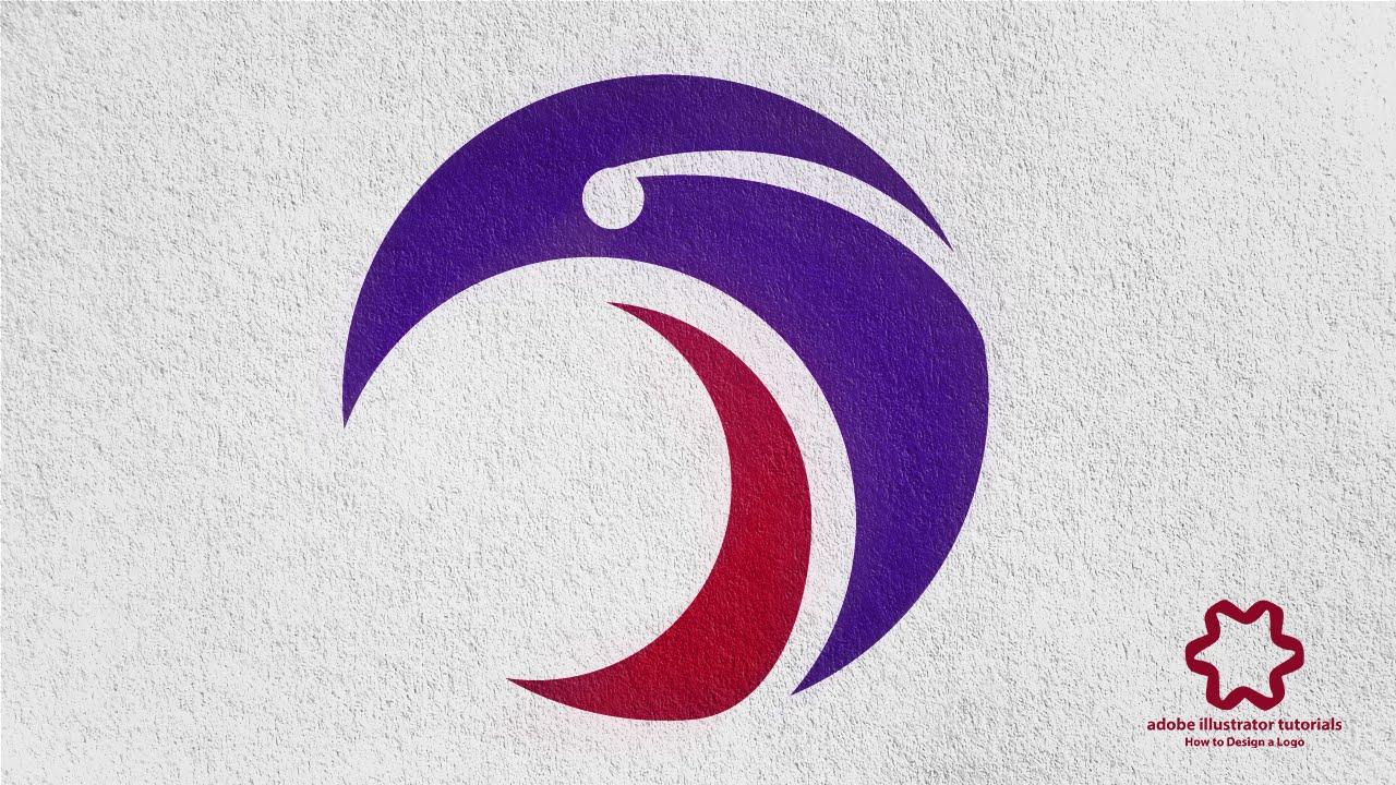 Adobe illustrator tutorial how to design logo using for Logo drawing tool