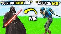 I Pretended To Be Darth Vader.. (Fortnite)