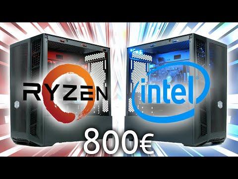 800 Euro Gaming PC 2020 | Intel Vs. AMD - DAS BATTLE!!!