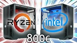 800 Euro Gaming PC 2020 | Intel vs. AMD - DAS BATTLE!!!