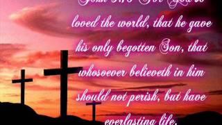 John 3:16 |(Maranatha)