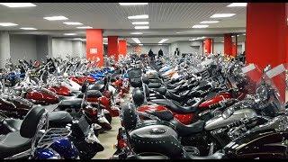 Наши будни-20. Поехали забирать мотоцикл Yamaha FJR 1300.Прогулки по мото салону.