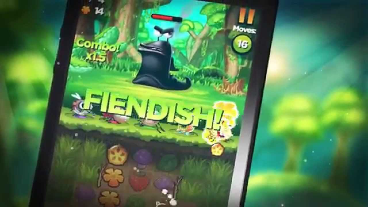 best fiends ios official gameplay trailer youtube. Black Bedroom Furniture Sets. Home Design Ideas