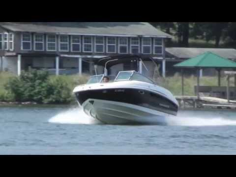 2007 Chaparral 246 Water Test Travel Video