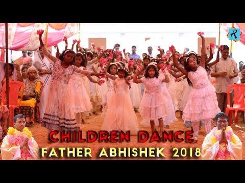 Father Abhishek 2018 Cute Children Dance Video  (Ludeg Parise) Dist. Jashpur