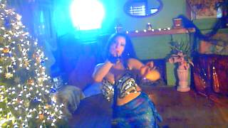 BEAUTIFULmiddle eastern  Isis wings belly dance for the holidays by ladykashmir dec 2013