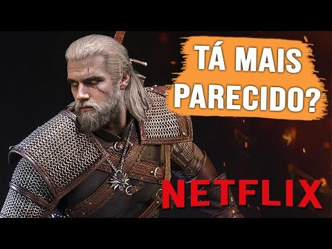 VAZOU NOVA FOTO DO GERALT DA SÉRIE DE THE WITCHER DA NETFLIX! thumbnail