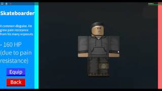 ROBLOX In Plain Sight Character Selection
