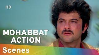 Action Scenes From Mohabbat (1985) (HD) Anil Kapoor | Vijayta Pandit | Amjad Khan - 80