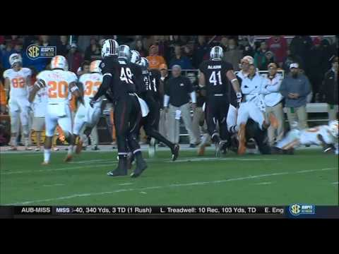 2014 Tennessee @ South Carolina Football 11/1/2014 - Vols late 4th Quarter Comeback + OT