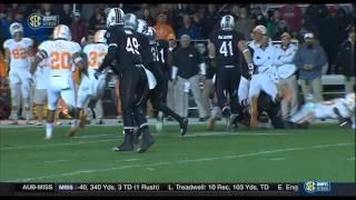 2014 Tennessee @ South Carolina Football 11/1/2014 - Vols late 4th Quarter Comeback + OT
