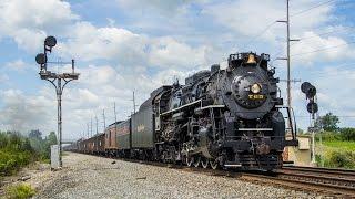 Nickel Plate Road 765 7/22/15: Steam Across Ohio