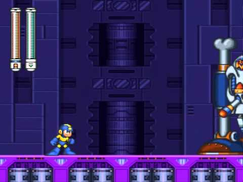 Mega Man 7 - Wily's Fortress : Stage 4
