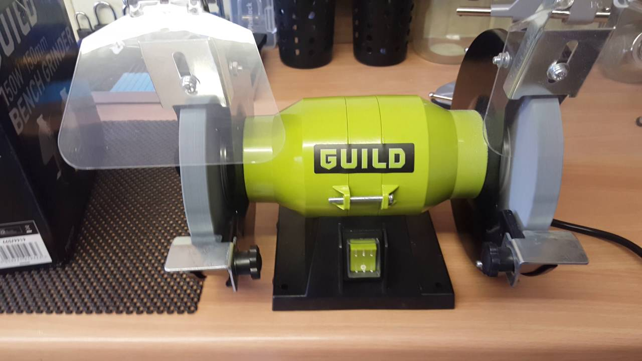 Guild Bench Grinder Review Youtube