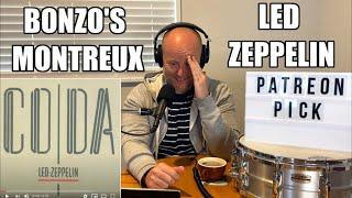 Drum Teacher Reacts: JOHN BONHAM | 'Bonzo's Montreux'  Led Zeppelin (2020 Reaction)