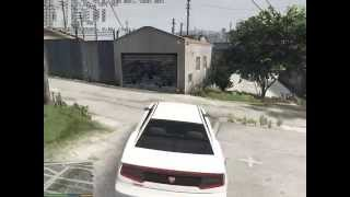 Grand Theft Auto V 9800 GT 49% locked gameplay