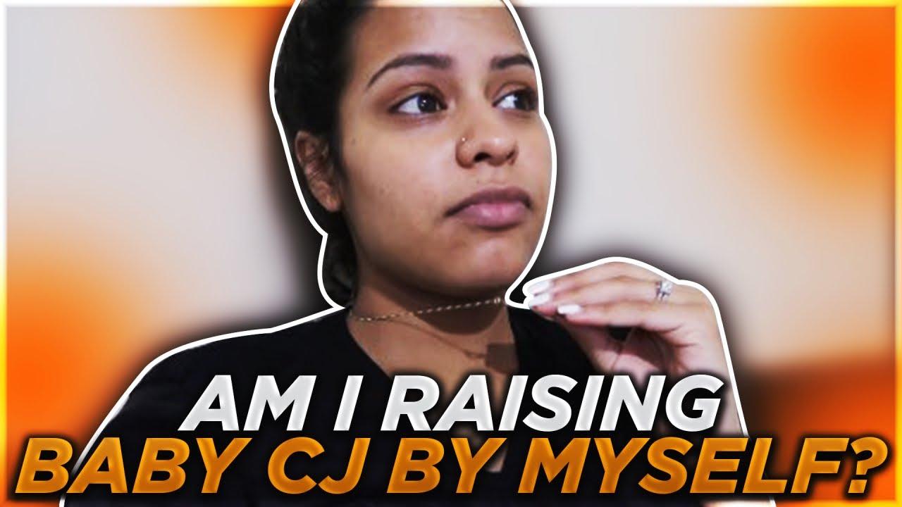 AM I RAISING BABY CJ BY MYSELF?!   CARMEN VLOGS - YouTube