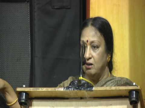 Padmabushan Dr Padma Subramaniam speech   Prasing Vazhuvoor Senthilkumar