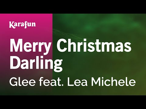 Karaoke Merry Christmas Darling - Glee *