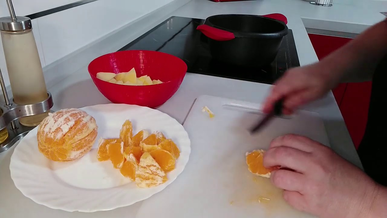 Ensalada de naranja con atún