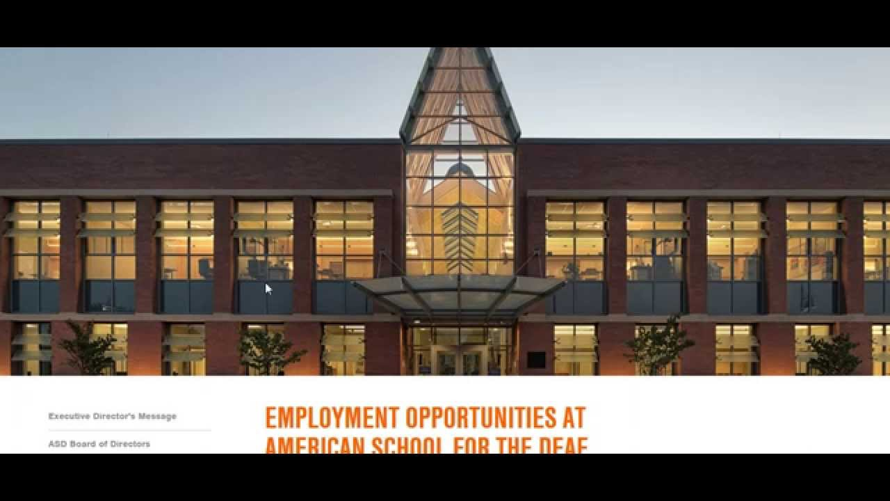 american school for the deaf jobs american school for the deaf jobs