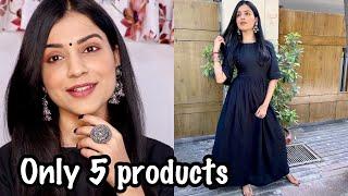 DESI MAKEUP LOOK | Simple Indian Makeup Tutorial | Easy & Quick Makeup for Office & College 2020