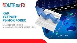 Как устроен рынок Forex. Участники торгов, факторы влияния на цену