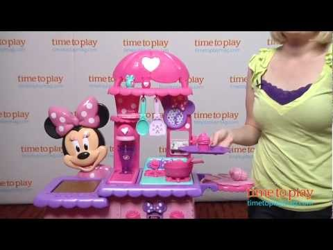 minnie's flipping fun kitchen from just play - youtube