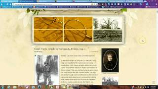Build a Family History Website & Blog on Weebly