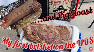 My First Brisket on the Ugly Drum Smoker (UDS) and Pig Roast