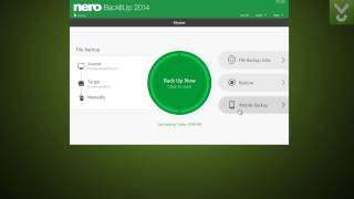 Nero BackItUp 2014 - Back up your data securely - Download Video Previews