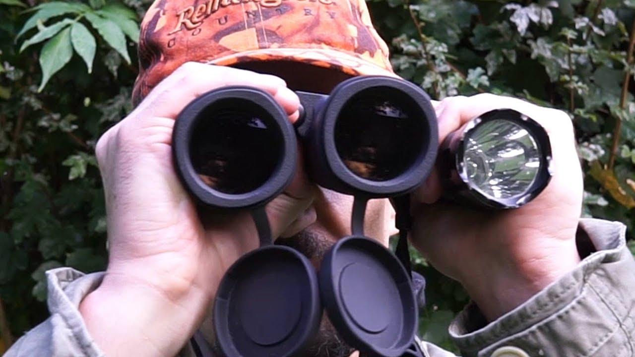 Jagen mit rotlicht: rotlichtlampe mit fernglas nutzen youtube