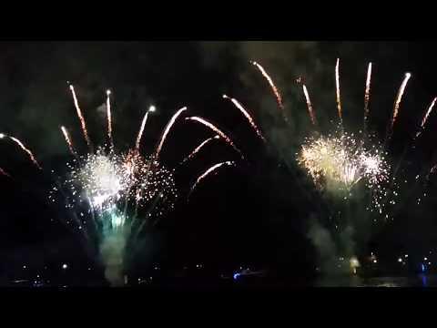 Australia Day Fireworks 2018 - Broadwater Parklands, Gold Coast