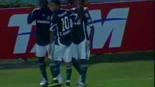 Palmeiras 4x2 Grêmio pela 3° Rodada  do Brasileiro 2010