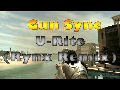 U-Rite - They (Rynx Remix) | Cod MW3 And Cod WW2 Gun Sync