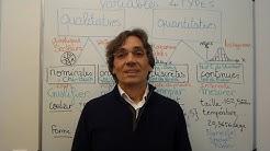 Cours Statistique - Variables, lois de probabilités