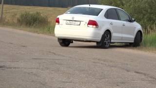 VW polo sedan / колёса 205/50-R16
