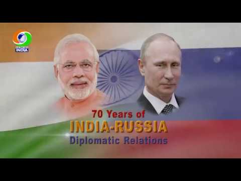 70th Year of Indo - Russian Diplomatic  Relations