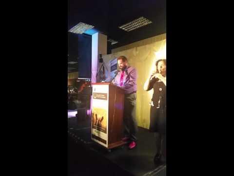 Philip Preston - Tallaght Person of the Year 2015 winning speech