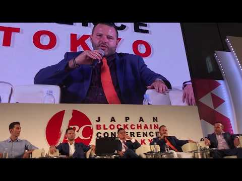 J.D. Salbego Speaks at Japan Blockchain Conference 2018 - Tokyo