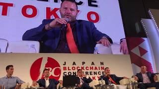J.D. Salbego Speaks at Japan Blockchain Conference 2018 - Toky…