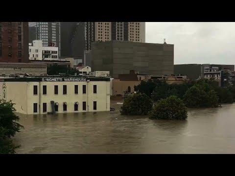 Harvey flooding devastates Houston area