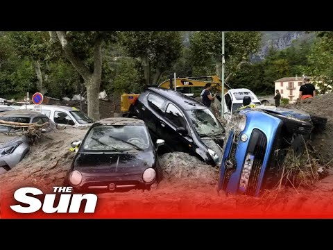 Storm Alex batters UK, France and Italy killing 8