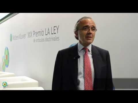 Entrevista a Vicente Sánchez, CEO de Wolters Kluwer España y Portugal | XXX Premio LA LEY